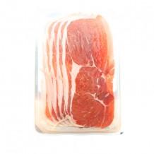 Serrano Ham sliced